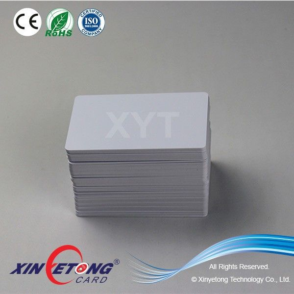 PVC Material Printable Blank PVC Card for Zebra Printer