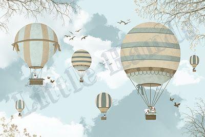 Littlehands Wallpaper baloons