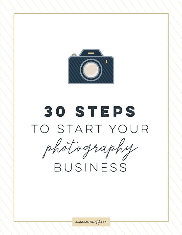 """It is easier than ever before to start a photography business. With the availability and relatively low price of DSLR cameras combined with the fact that taking photos (mostly with our phones) has become an intricate part of our everyday lives, the barriers for entry into the """"business of"""