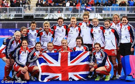 The Girls in England are playing hockey - and they are pretty good! - via the Daily Mail