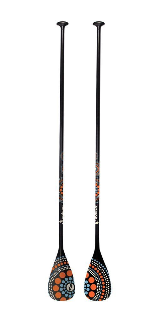 SOLACE SUP BOARDS ADJUSTABLE CARBON paddle MODEL: VERSA (LIMITED EDITION ART)