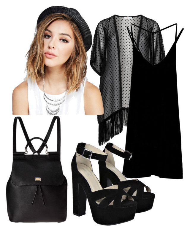 Senza titolo #56 by hopegloverglow on Polyvore featuring moda, RVCA, Maxima, Boohoo, Dolce&Gabbana and Wet Seal