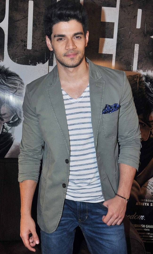 Sooraj Pancholi at a media event to promote 'Hero'. #Bollywood #Hero #Fashion #Style #Handsome