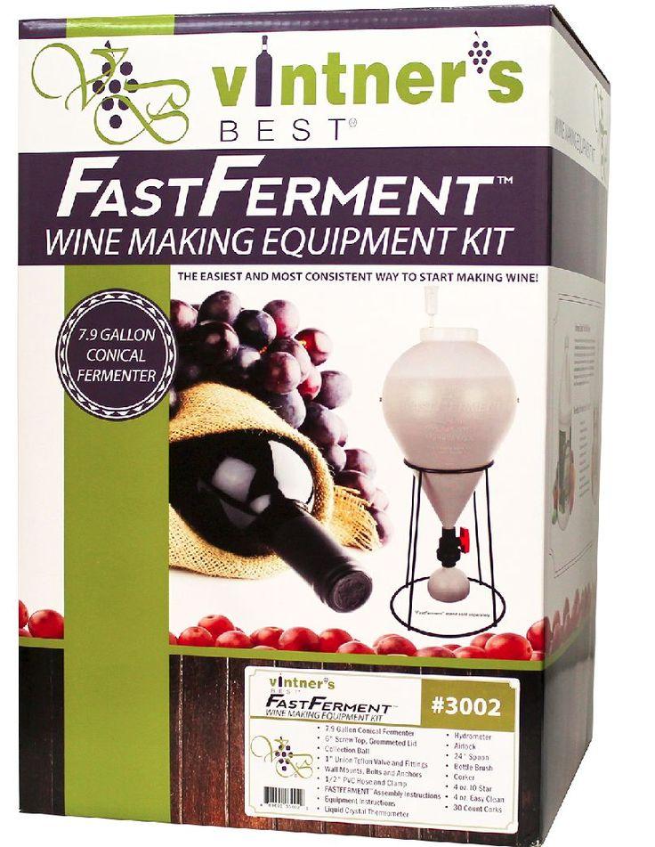 The Vintner's Best® FastFerment Wine Making Equipment Kit