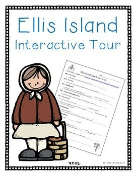 This sheet guides students through an interactive tour of Ellis Island. It helps students visualize and learn about the experience of immigrants as they passed through the various stations. The webquest is easy to grade and very engaging!