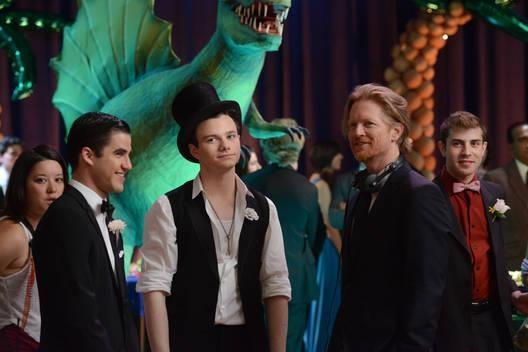 ブロッコリーヘアじゃないバージョンの写真も撮ってたということか #Glee