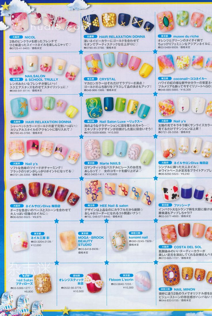 171 best Magazine nail art images on Pinterest | Book, Nail spa and ...