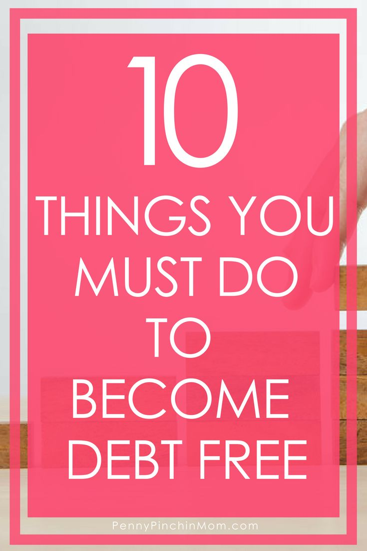 How to Get out of Debt   How to Pay off Your Debt   Debt Free Plan   Saving Money   Budget   Personal Finance