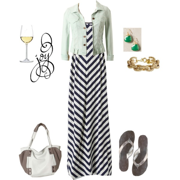 """""""mint jacket with navy"""" by carrie2 on Polyvore: Like Jacket, Summer Night"""