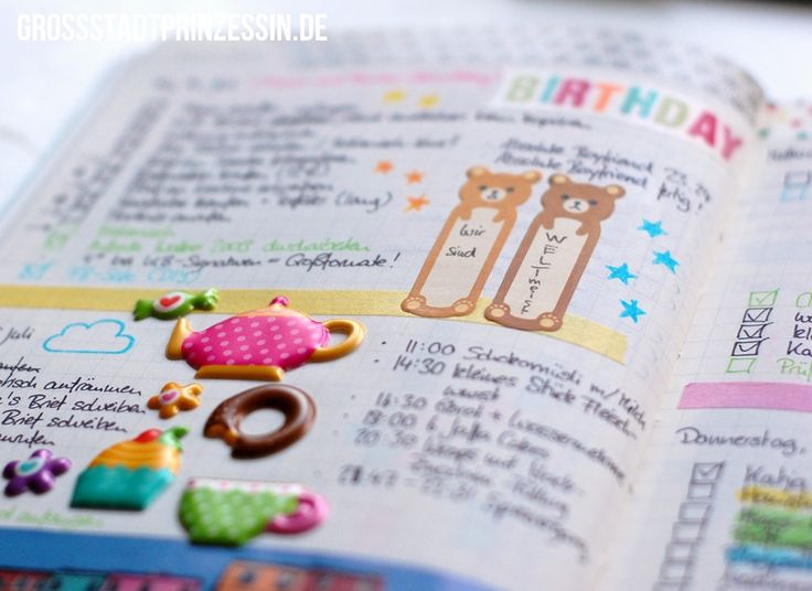 Bullet Journaling Great Post On How Shes Tailored Her Journal For Her Needs And