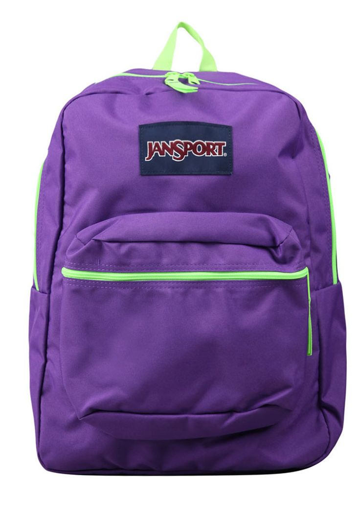 Spirt Backpack Night Florescent Green by JanSport. http://www.zocko.com/z/JFjcQ