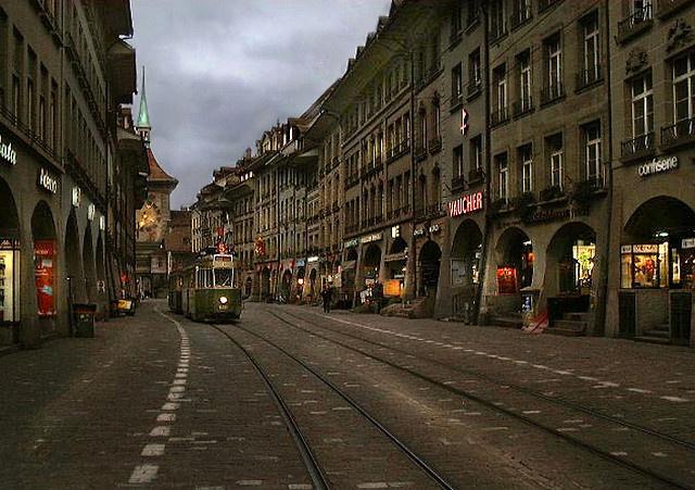 Night in Berna