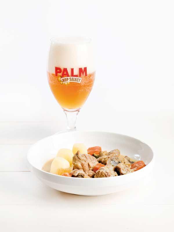Kalfsblanquette geparfumeerd met Palm Hop Select