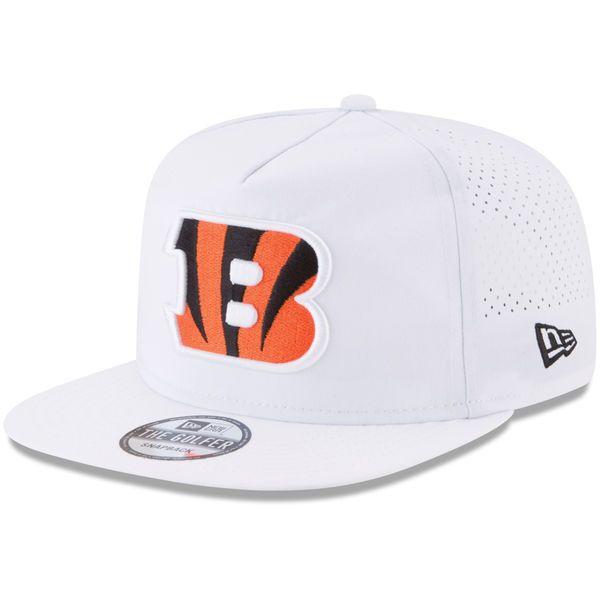 Cincinnati Bengals New Era 2017 Training Camp Official A-Frame Golfer Hat - White - $33.99