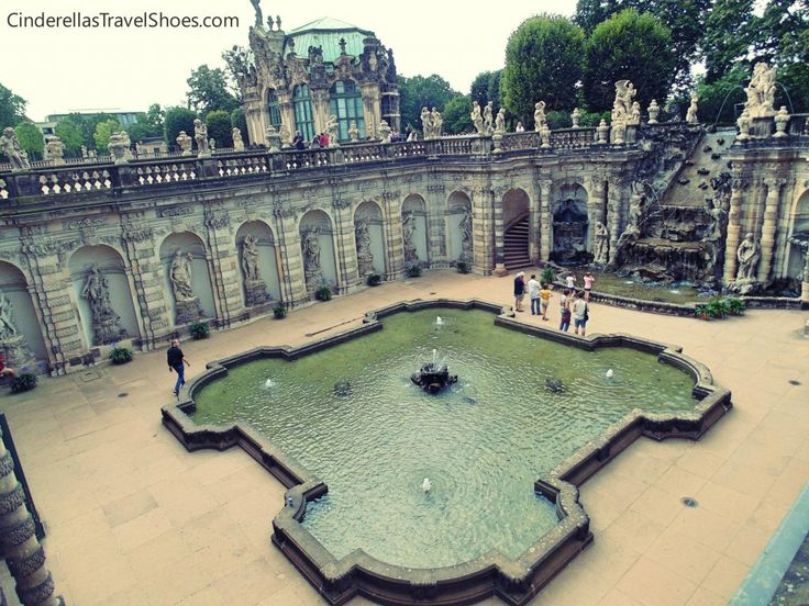 The view from top of Zwinger