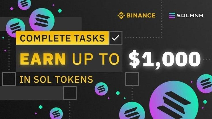 Solana By Binance in 2020 Token, Cryptocurrency, Referrals