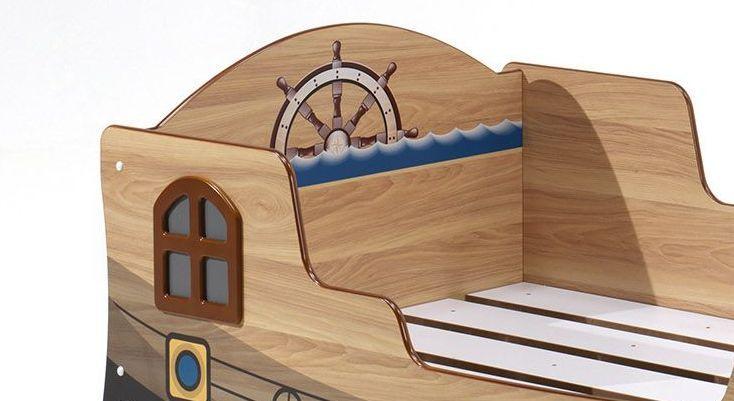 Piratenschiff Als Bett Mit Lattenrost Fur Kinder Kaufen Enter Piraten Schiff Bett Mit Lattenrost Piratenschiff