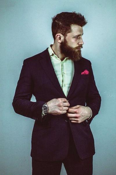 Бородатые мужчины. Самый стильный и сексуальный жених 2015 Image: 2