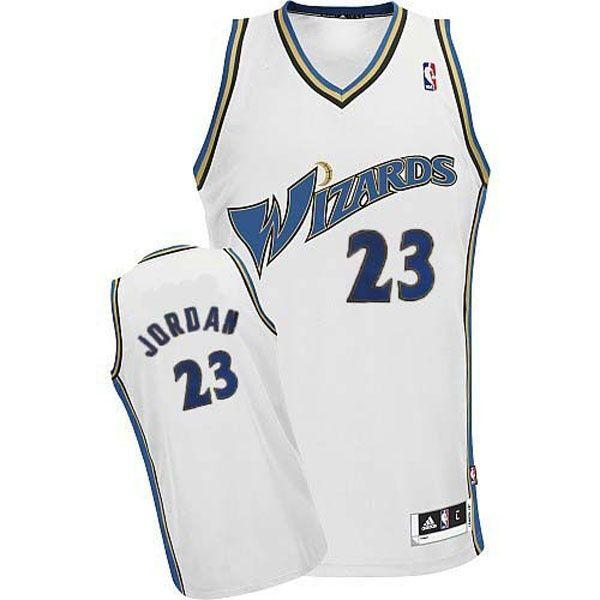 0b0def20d99 ... large Washington Wizards Michael Jordan Revolution 30 Swingman Home White  Jersey Champion NBA Basketball Washington Wizards 0 Gilbert Arenas ...