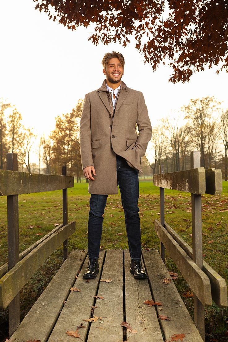 Burberry Coat & Hogan Shoes for Men