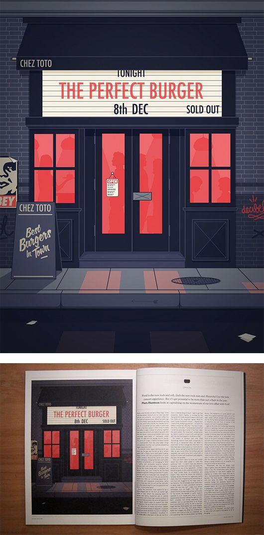 Illustrations by Thomas Danthony | Inspiration Grid | Design Inspiration