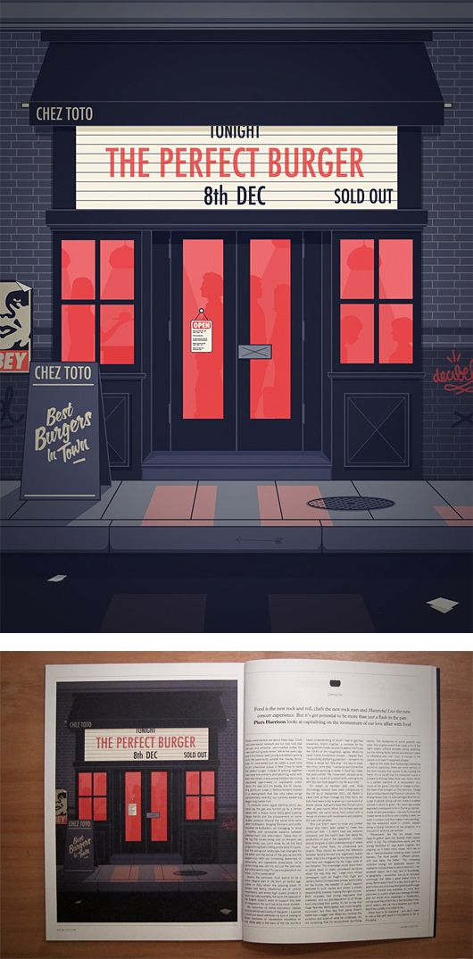 Illustrations by Thomas Danthony | Inspiration Grid | Design Inspiration