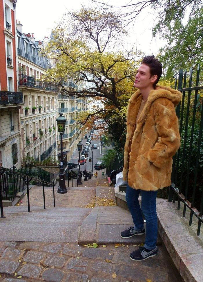 Fur in Montmartre. Jepsukka   Lily.fi