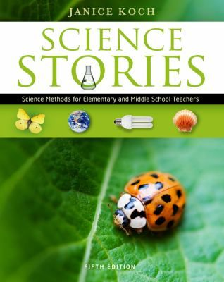 "SCIENCE STORIES helps teachers build their own instructional knowledge through the use of narratives about science in real-world classrooms that demonstrate important content, learning, and strategies in action.  Author Janice Koch's constructivist approach guides teachers in the discovery and exploration of their ""scientific selves"" so that they can learn from students' experiences and become effective scientific explorers in their own classrooms."