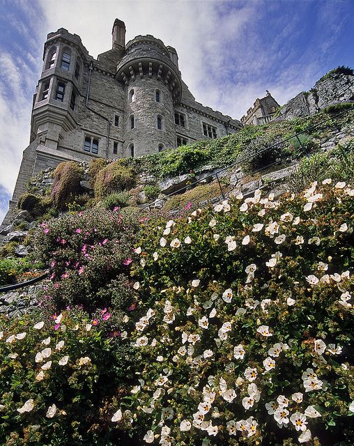 St Michael's Mount Gardens, Cornwall, England