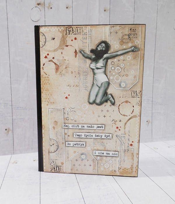 scrapki.pl: Kalendarz w beżach i brązach