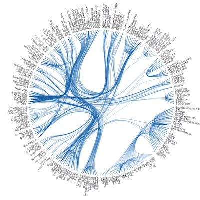 Circular network chart in qlikview | Qlik Community