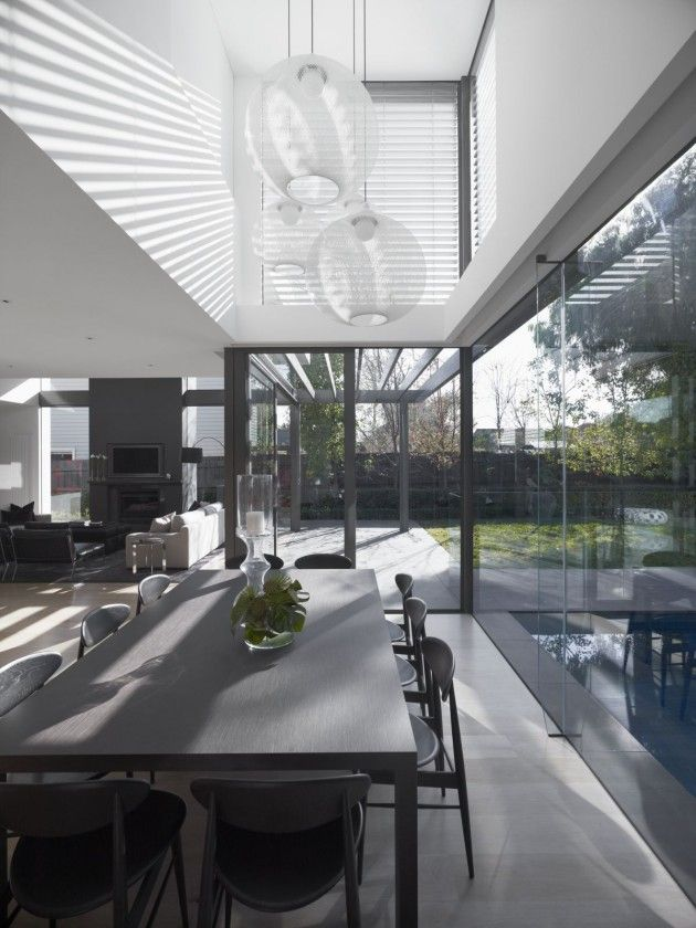Mim Design completed the interior design of the DMH Residence in Melbourne, Australia.