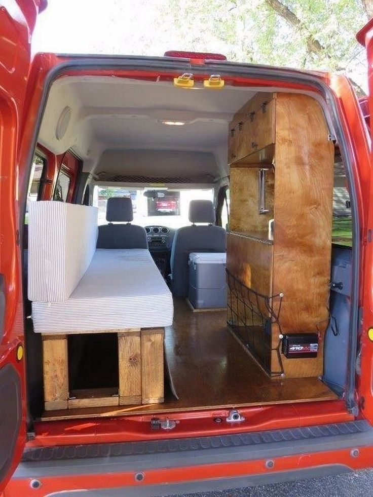 Custom RV Camper Van Stealth Conversion
