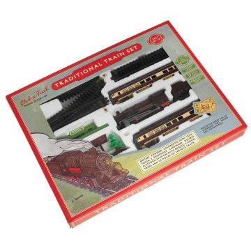 Traditional Vintage Train Set
