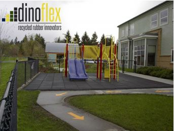 Did you know Dinoflex Playground tile offer certified fall height protection. Not only do our tiles create a safe place for children to play, but they are also extremely easy to install. Visit our website www.dinoflex.com to view all of our colours as well as our interactive tiles. #Dinoflex #PlaygroundTile #UniquelyDifferent