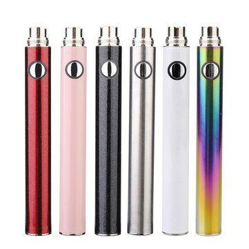 Micro USB EVOD2 Battery For Electronic Cigarette 900mAh Sale - Banggood.com