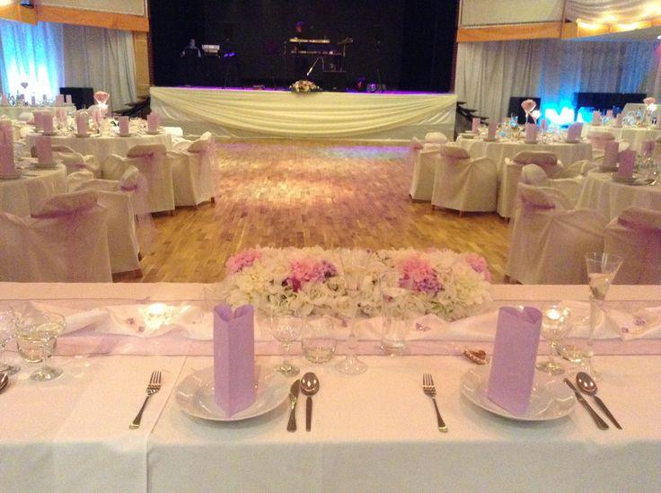 U nás v Pianoclube - svadobná výzdoba