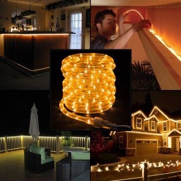LED 18ft White Rope Light Indoor Or Outdoor Accent Lighting Best 25 Outdoor rope  lights ideas on Pinterest Walkway lightsHoliday Living 18 Ft Clear Rope Light  Holiday Living 216 Count 18  . Holiday Living Rope Lights. Home Design Ideas