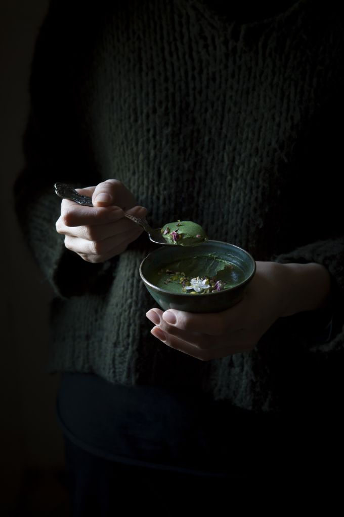 Something Green | Panna Cotta alle Ortiche - The Freaky Table by Zaira Zarotti