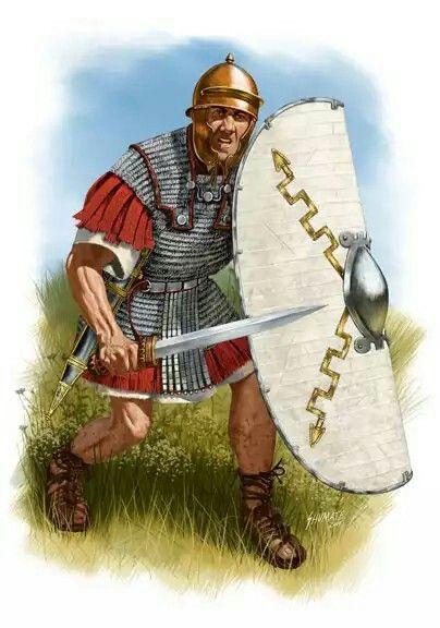 1st century BC ROMAN LEGIONARY