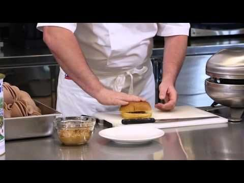 This demonstration video shows the steps to make a Chocolate Peanut Panini Gelato. // View this demo and more at The PreGel Channel