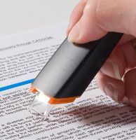 digital highlighter - goes right to your computer!