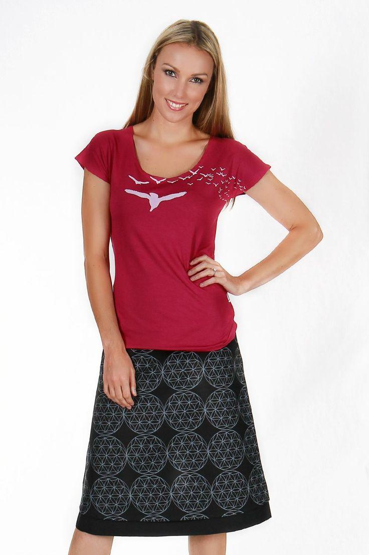 Origami Reversible Skirt - Side 1