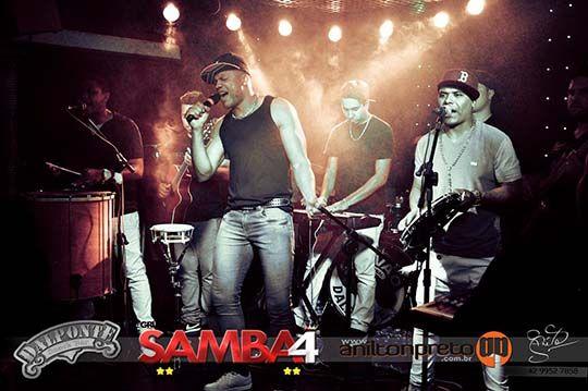 Fotos do Show do Grupo de Pagode de Curitiba SAMBA4, que aconteceu no dia 07 de setembro de 2013 no Dalponte Snack Bar de Telêmaco Borba.