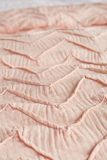 Textured Chevron Duvet Cover