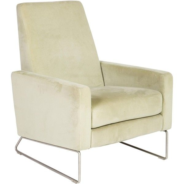 Pre-owned Design Within Reach Jeffrey Bennett & Nicholas Dodziuk... ($1,025) ❤ liked on Polyvore featuring home, furniture, chairs, recliners, white, oversized recliner, ivory furniture, antique white furniture, oversized furniture and second hand furniture