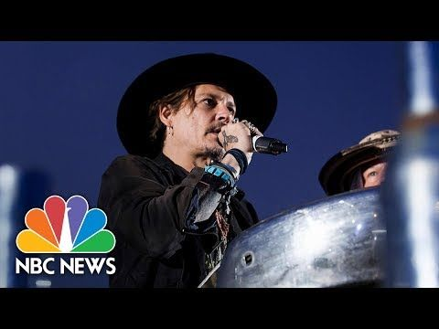 NBC News: Johnny Depp: 'When Was The Last Time An Actor Assassinated A President?'