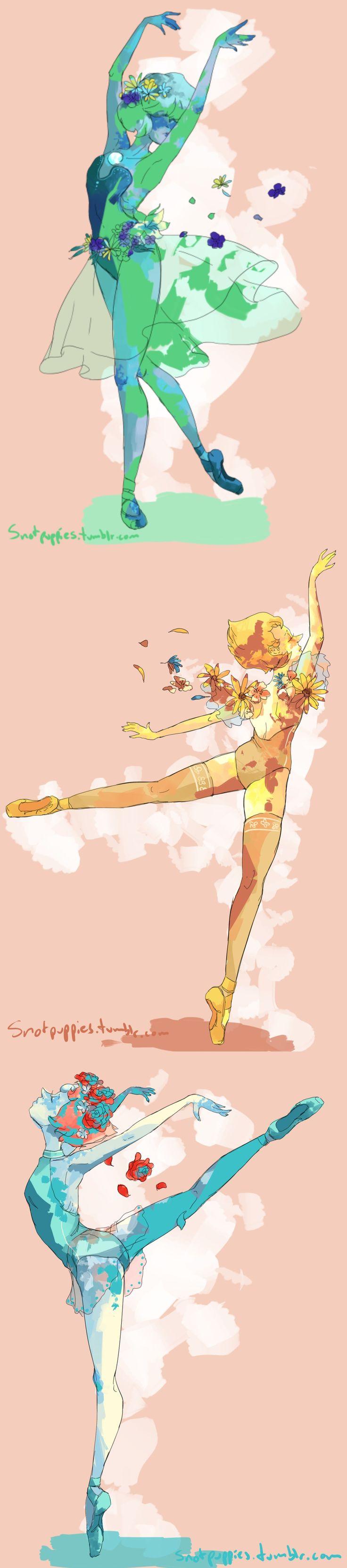 O balé é a única coisa que une os inimigos... Ok, isso é esquisito!