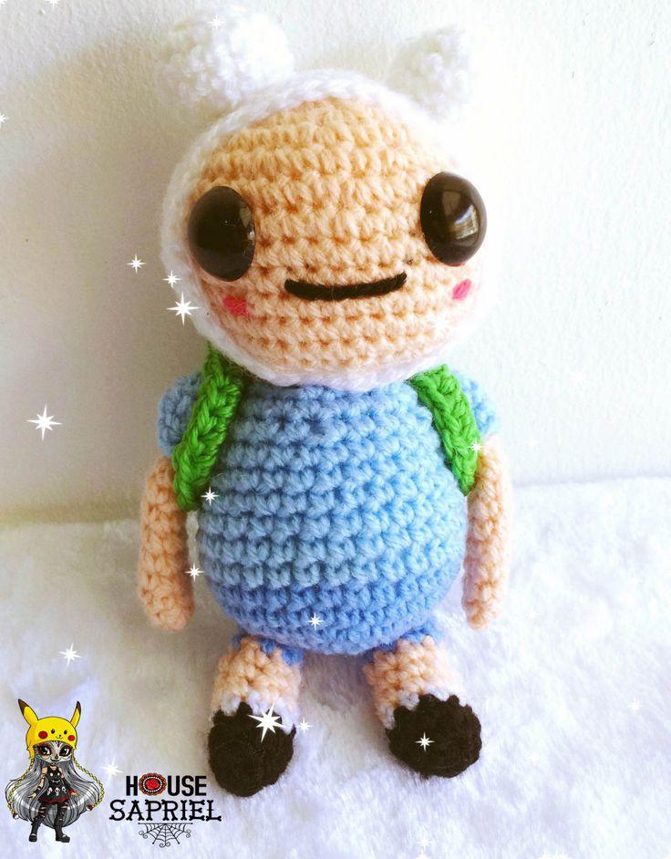 Cute amigurumi ,cute Finn, adventure time,,crochet,Kawaii amigurumi ,CartoonNetworkacrylic wool by HousesaprielShop on Etsy