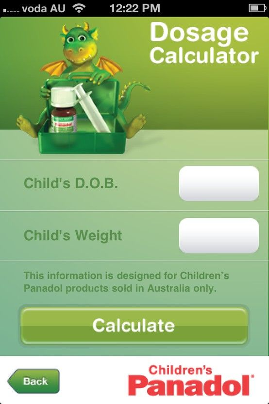 Project: Childrens Pandaol App Client: GSK https://itunes.apple.com/au/app/childrens-panadol/id368157238?mt=8